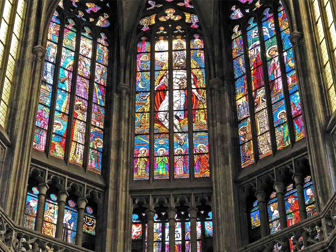 Prague Stained Glass